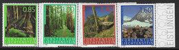 Liechtenstein 2009 Forest Set 4v Complete Unmounted Mint [4/4723/ND] - Liechtenstein
