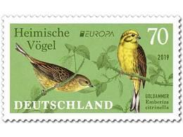 Z07 Germany BRD 2019 Mi 3463 Yellowhammer Goldammer EUROPA Vögel Birds MNH - BRD