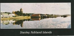 "Stanley, Falkland Islands  3.5"" X 7.8""  9.5 Cm X 19.8 Cm - Falkland Islands"