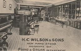 H. C. Wilson & Sons New Piano Store, Sherbrooke, Quebec Piano & Organ Department - Sherbrooke