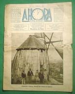 Cadaval - A Hora Nº 11 De 1934 - Moinho De Vento - Bombeiros - Molen - Windmill - Moulin (danificada) - Geography & History