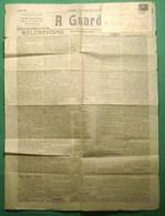 Guarda - Jornal A Guarda De 1920 - História Postal - Filatelia - Selo Ceres - Philately - Unclassified