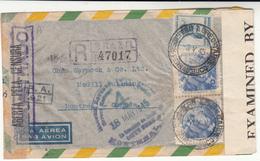 Brazil / Airmail / Censorship / Canada - Brazil