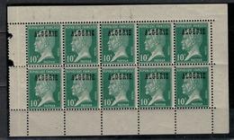 ALGERIE            N°  YVERT     9 X 10   NEUF SANS  CHARNIERE      ( Nsch  1/29 ) - Algerien (1924-1962)