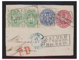 ALLEMAGNE -- PRUSSE -- FRAGMENT -- PAIRE DU N°15, N°19 - Prusse