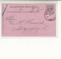 Austria / Vienna Rohrpost / Stationery / Pneumatic Mail - Austria