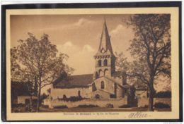 03141 . MAZERIER . ENVIRONS DE GANNAT . EGLISE - Other Municipalities