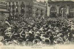NANCY Rentrée Triomphale Du 20e Corps 27 Juillet 1919 Défilé Des Drapeaux   RV - Nancy