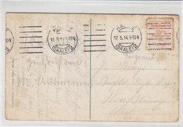 Soldatenbrief Mit Vignette Aus HALLE 17.5.14 - Allemagne
