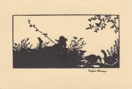 AK - Josefine Allmayer - Scherenschnitt - Silhouettes