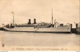 D33  PAUILLAC  Le Paquebot  Pérou De La Cie Gle Transatlantique - Frankreich