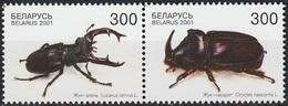 2001Belarus403-404PaarInsects2,50 € - Autres