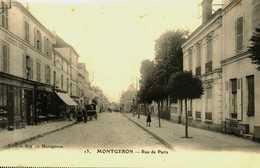 91....essonne...montgeron......rue De Paris...magasins - Montgeron