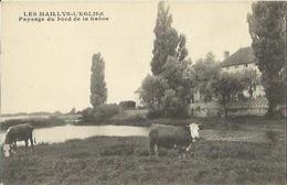 6537 CPA Les Maillys L'Eglise - Paysage Du Bord De La Saône - France