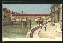 Cartolina Firenze, Il Ponte Vecchio - Firenze (Florence)