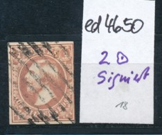 Luxemburg Nr. 2 Type ? Signiert  -o  (ed4650  ) Siehe Scan - 1852 Wilhelm III.