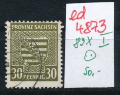 SBZ Nr. 83 X    I   -Plattenfehler/Abart      (ed4873  ) Siehe Scan - Zone Soviétique