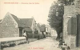 95 AUVERS SUR OISE - CHAUMIERES DANS LES VALLEES - Auvers Sur Oise