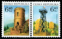 BG2755 Czech 2002 Bunker And Watchtower 2V MNH - Neufs