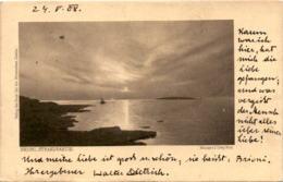 Brioni - Strandpartie * 24. 5. 1908 - Kroatien