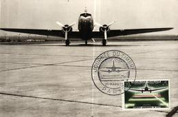 CARTE 1ER JOUR AVIATION - JOURNEE DU TIMBRE - 21 MARS 1959 - Airplanes