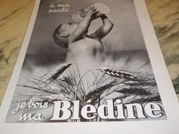 ANCIENNE PUBLICITE A MA SANTE BLEDINE DE JACQUEMAIRE 1935 - Affiches