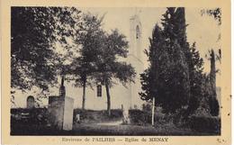 ENVIRONS DE PAILHES  -  EGLISE DE MENAY - Frankrijk