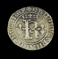 Karolus  - Charles VIII - France - 1483-98 - ° 19  Saint Lo - Billon - TB+ - 2,22gr. - - 1483-1498 Charles VIII L'Affable