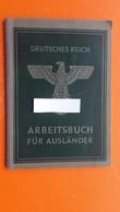 ARBEITSAMT Salzburg.3.DEUTSCHES REICH.ARBEITSBUCH FUR AUSLANDER(SLOVENIAN/SLOVENEC) - Décrets & Lois