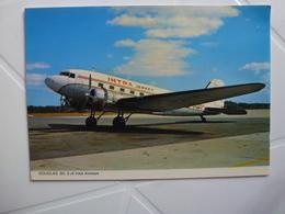 DOUGLAS D.C 3 OF INTRA AIRWAYS DE JERSEY - Werbung