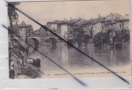 Bar Le Duc (55) Les Bords De L'Ornain Et Le Pont Notre Dame - Bar Le Duc