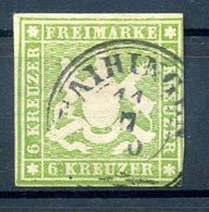 WUERTTEMBERG 1859, Nr 13a (96512) - Wuerttemberg