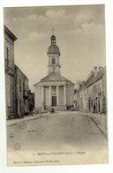 Cpa N° 8 MONT SOUS VAUDREY L ' Eglise - France