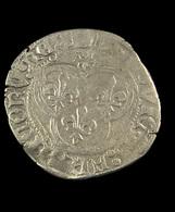 Blanc Au Soleil  -  Louis XI - France - 1461-83 - ° 19 Saint Lo  -  Billon - TB+ - 2,72gr. - - 1461-1483 Louis XI Le Prudent