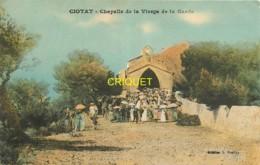 13 La Ciotat, Chapelle De La Vierge De La Garde, Animation Avec Une Cérémonie, écrite 1923 - La Ciotat
