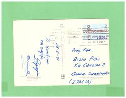 1971 ESPANA  POSTCARD WITH 1 STAMP TO ITALY - 1931-Oggi: 2. Rep. - ... Juan Carlos I