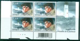 Belgium XIII William VANCE Bloc De 4 3233** Coin De Feuille. - Bandes Dessinées