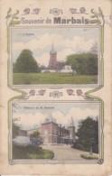 Souvenir De Marbais Circulée En 1915 - Villers-la-Ville