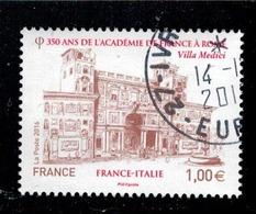 2016 N 5115 ACADEMIE DE FRANCE A ROME OBLITERE CACHET ROND  #228# - Oblitérés