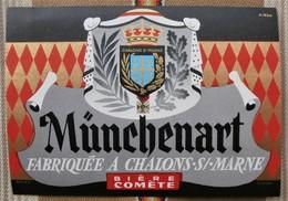 Rare 51 CHALONS SUR MARNE Biere COMETE Munchenart - Bière