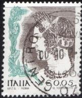 Italia 2002 La Donna Nell'arte 3^ Serie (senza S.p.a.),  9 Valori Vedi Descrizione - 1946-.. République