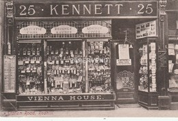 Surrey REDHILL Kennett Shop Station Road Postcard Display  Sy238 - Surrey