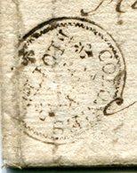 BASSE TERRE Pour BORDEAUX LAC De 1785 Entrée Colonies Par LA FLOTTE (4 Scans) Lire Le Descriptif - Marcophilie (Lettres)