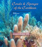 Antigua And Barbuda  2018  CORALS AND SPONGES OF THE CARIBBEAN   I201901 - Antigua And Barbuda (1981-...)
