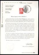 France 2018 - Phil@poste - Marianne L'Engagée - Notice 1er Jour 20.7.18  - Tirage Limité - Documents Of Postal Services