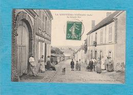La Louptière-Thénard. - La Grande Rue. - France
