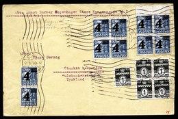 A6178) Dänemark Denmark Brief 29.11.35 N. Deutschland - 1913-47 (Christian X)