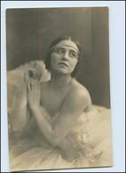 Y5059/ Eban Strandin Schauspielerin Aus Schweden Foto AK 1920 - Künstler
