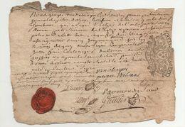 Orléans Extrait De Bathême 1737 - Manuscrits