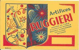 *** Buvard - Artifices RUGGIERI - Löschblätter, Heftumschläge